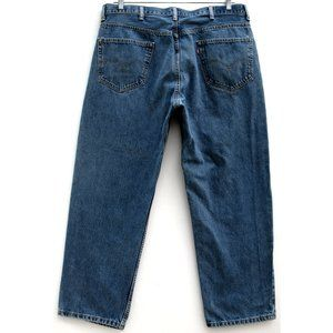 Levi's 550 Relaxed Fit Medium Sz 37.5 (measured)